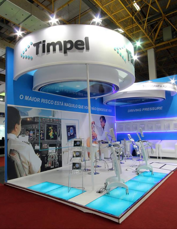 Feira Hospitalar - Stand Timpel - Projectos Stands
